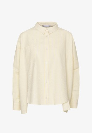 SON - Button-down blouse - light yellow