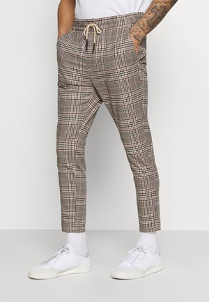 ONSLINUS   - Trousers - cherry mahogany