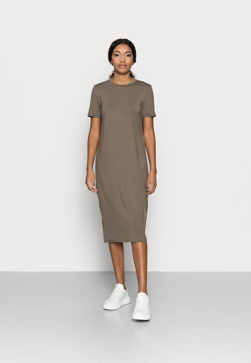 Vero Moda Petite - VMGAVA DRESS PETITE - Jersey dress - bungee cord