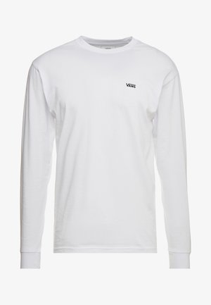 LEFT CHEST HIT - Longsleeve - white