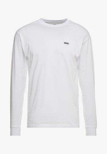 MN LEFT CHEST HIT LS - Langærmede T-shirts - white