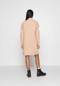 Noisy May - NMPERI ASYA HIGHNECK DRESS - Day dress - praline - 2