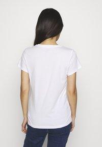 GAP - FRANCHISE TEE  2 PACK - T-shirt z nadrukiem - navy uniform - 4