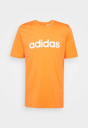Print T-shirt - true orange