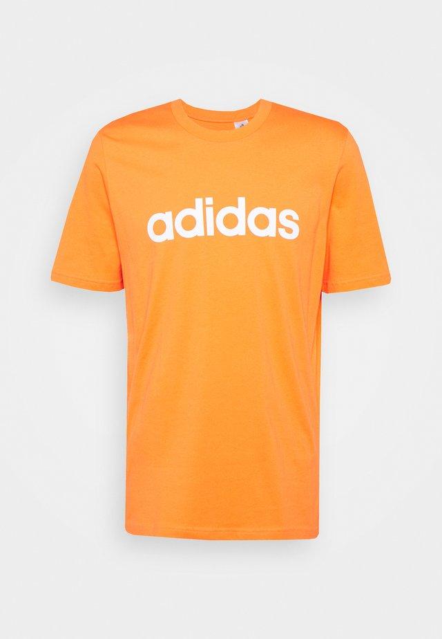 T-shirt imprimé - true orange