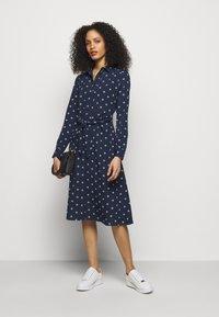 Lauren Ralph Lauren - DRESS - Košilové šaty - french navy/pale - 1