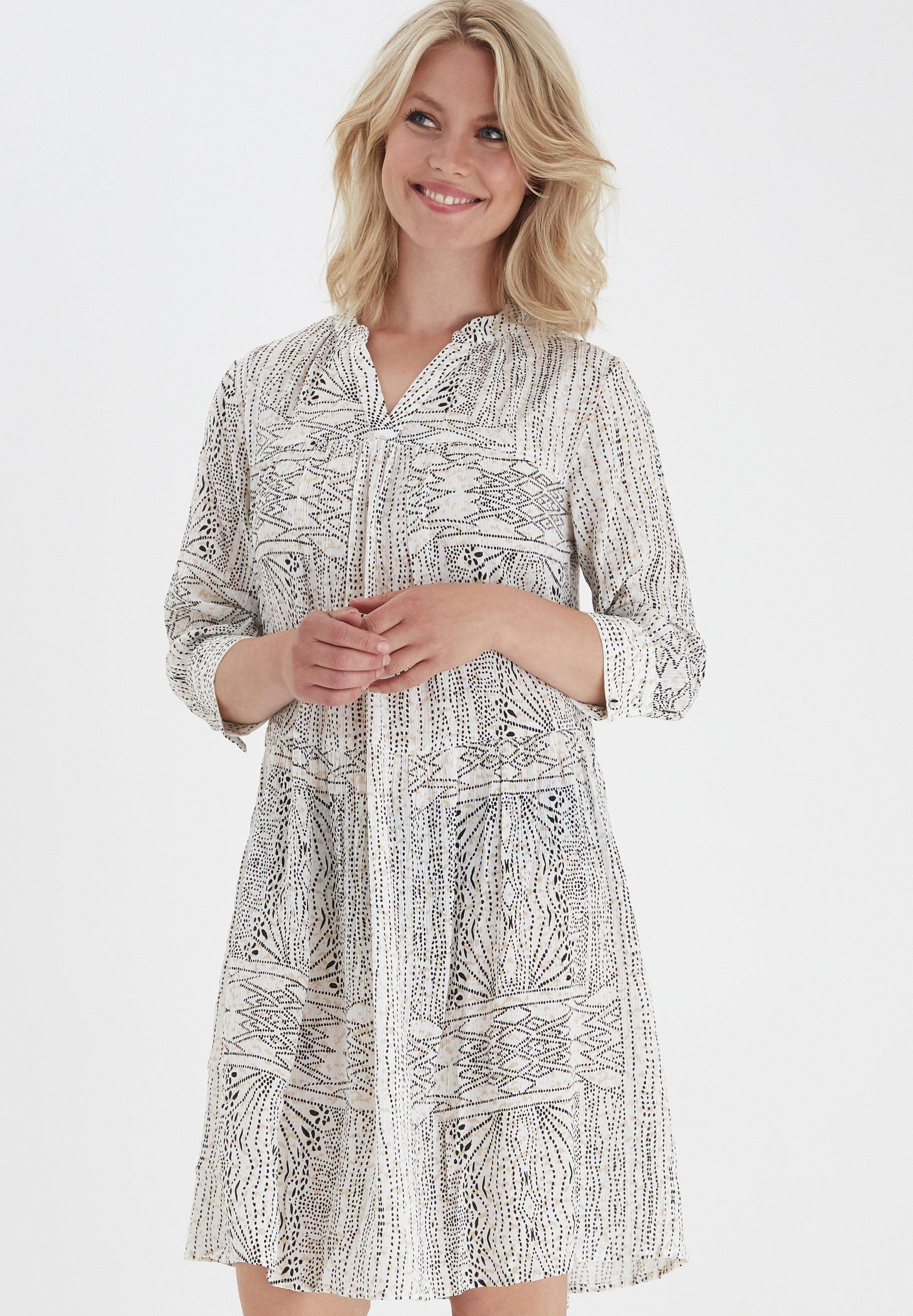 Bulk Designs Perfect Women's Clothing Fransa FRLASOFTY  Day dress antique mix 3Yb1ck9Ta 2ECORvfoD