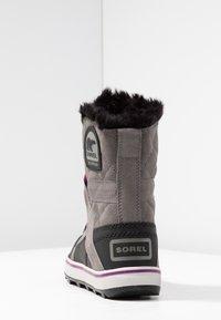 Sorel - GLACY EXPLORER SHORTIE - Vinterstøvler - dark grey - 5