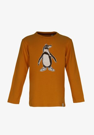 TOO COOL FOR SCHOOL - Long sleeved top - rust