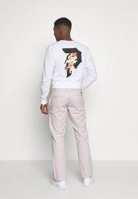 Dickies - SLIM STRAIGHT WORK PANT - Chino kalhoty - violet - 2