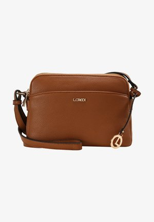 FABIENNE - Across body bag - cognac