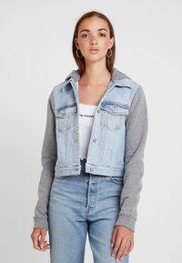 Hollister Co. - TWOFER JACKET - Denim jacket - blue denim - 0