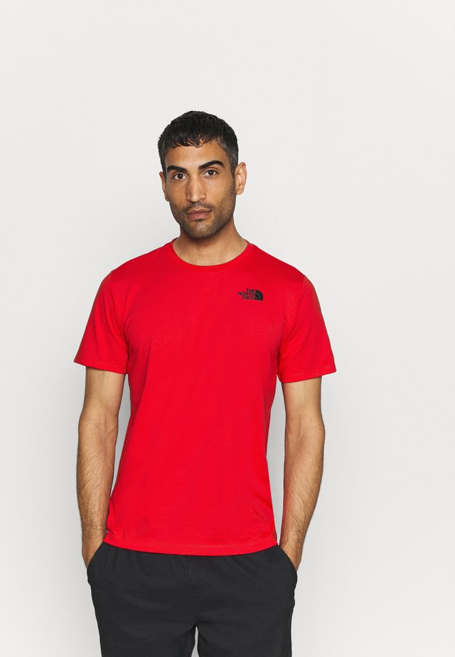 FOUNDATION GRAPHIC TEE - T-shirt imprimé - red