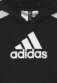 adidas Performance - SET UNISEX - Tracksuit - black/white - 3