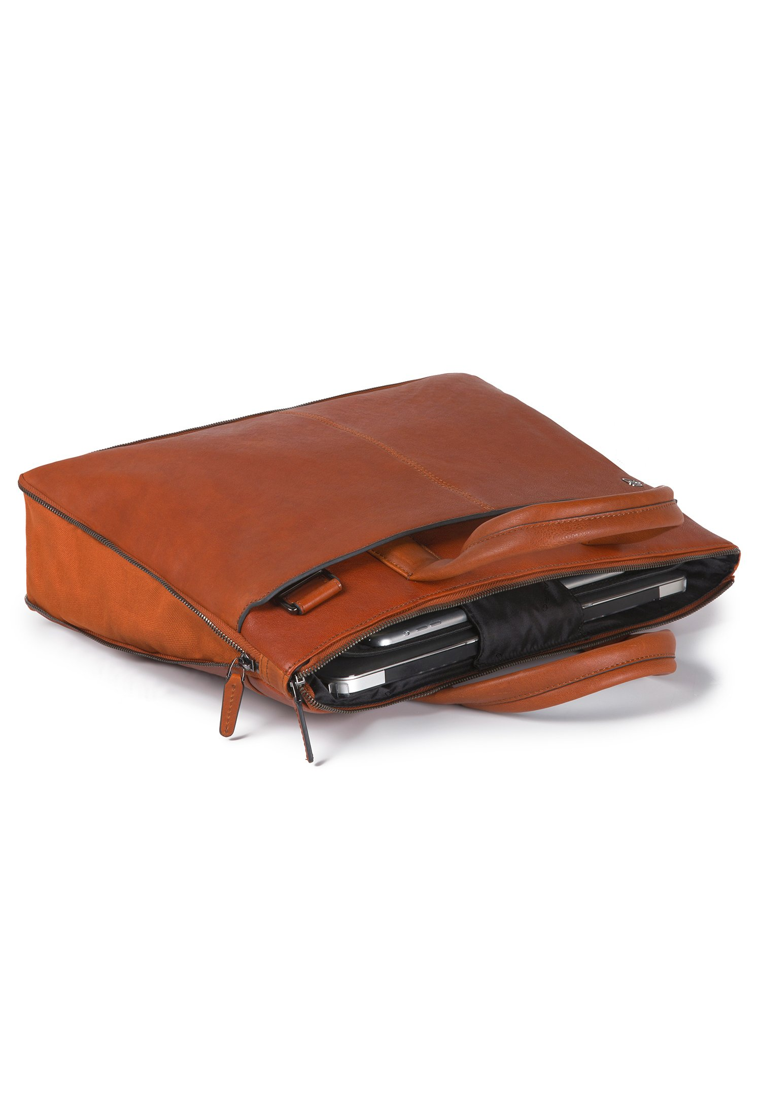 Piquadro BLACK SQUARE  - Aktentasche - orange/cognac - Herrentaschen 8ouSs