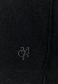 Marc O'Polo - SHORT-SLEEVE ROUNDED V-NECK RAW CUT DETAILS - Basic T-shirt - dark blue - 2