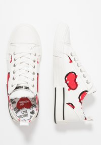 Love Moschino - LABEL SOLE - Zapatillas - white - 3