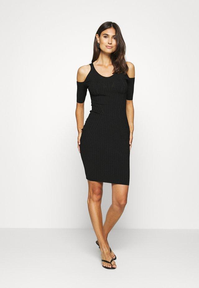JESSICA DRESS - Shift dress - jet black