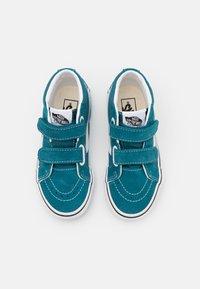 Vans - SK8-MID REISSUE UNISEX - Sneakers hoog - blue coral/true white - 3