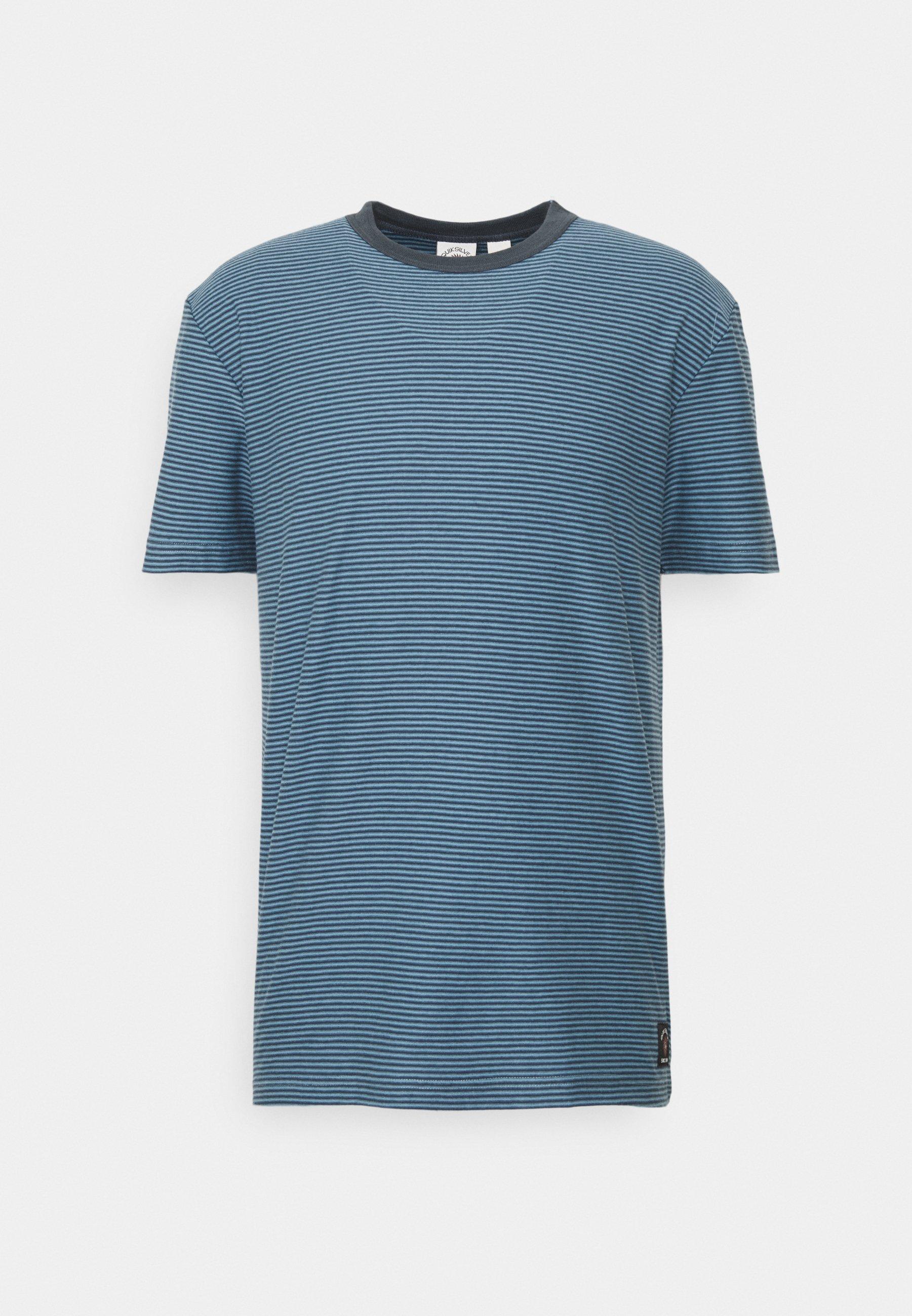 Men BUTLER  - Print T-shirt - blue heaven