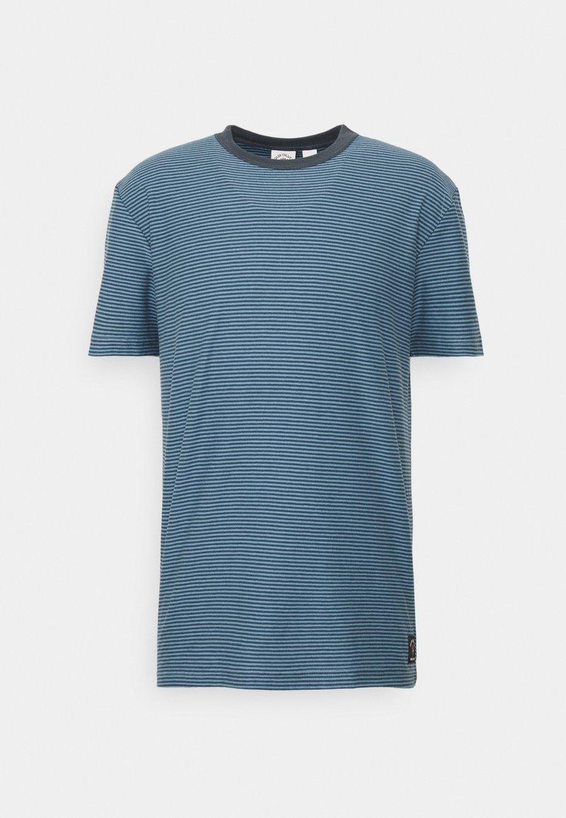 Quiksilver - BUTLER  - Print T-shirt - blue heaven