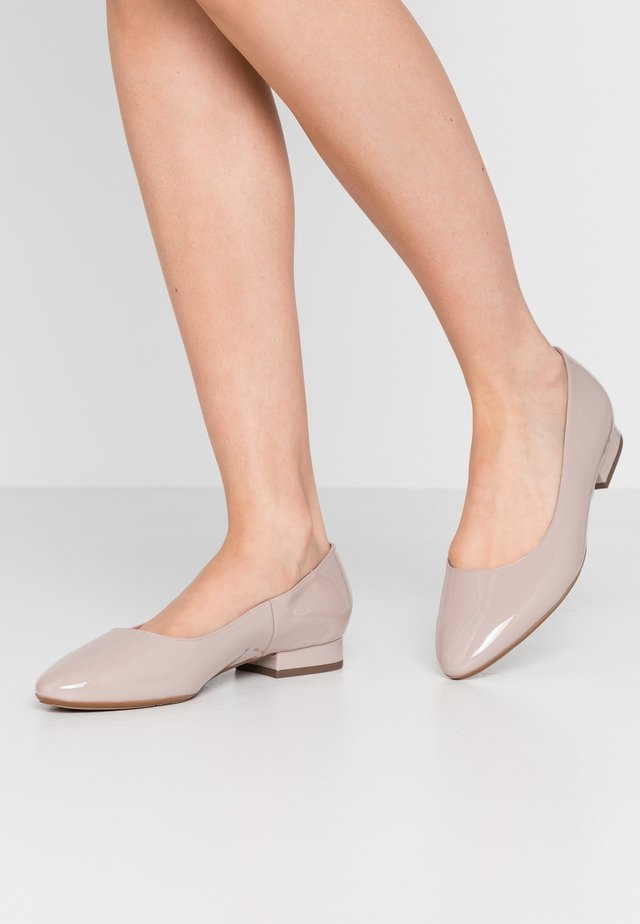 WIDE FIT FALA - Ballerines - mauve