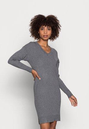 ISADORA DRESS - Jumper dress - grey iron melange