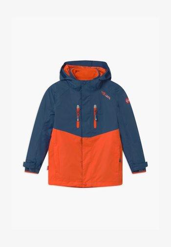 BRYGGEN 2 -IN- 1 UNISEX  - Hardshell jacket - mystic blue/orange
