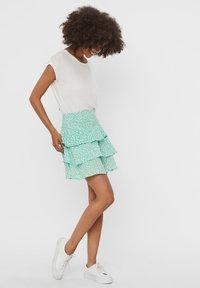 Vero Moda - A-line skirt - neptune green - 1