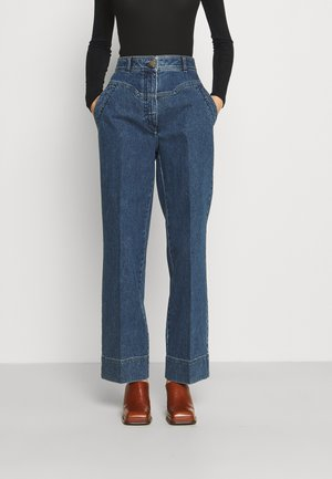 TROUSERS - Relaxed fit -farkut - blue