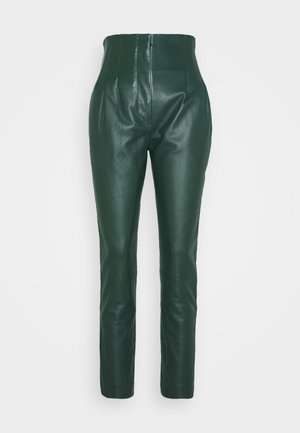 LEATHERPIECES TROUSERS - Pantaloni - green