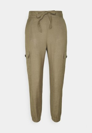 ONLVIVA LIFE PANT - Pantalones cargo - covert green