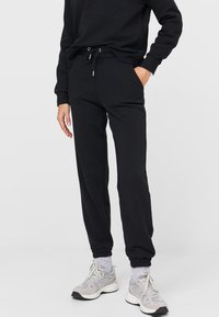 Stradivarius - SET - Tracksuit - black - 2