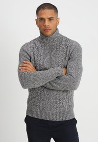 Pier One - Jumper - mottled grey - 0