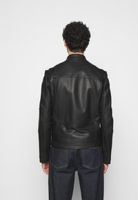 HUGO - LONOS - Leather jacket - black - 2