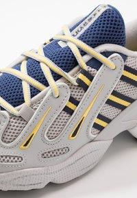 adidas Originals - EQT GAZELLE - Sneakers - grey two/legend ink/yellow - 5