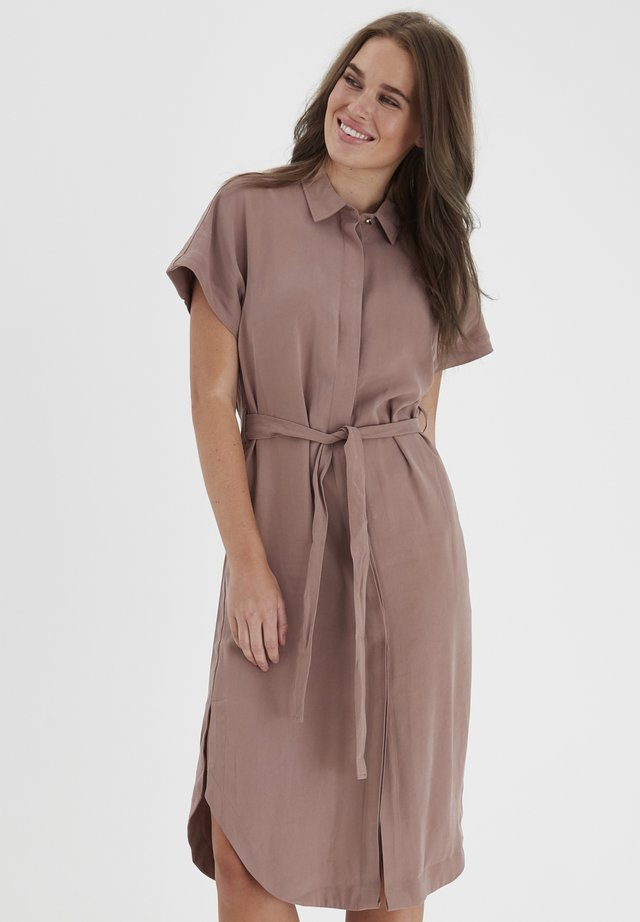 DRJARCY 4 DRESS - - Shirt dress - brownie