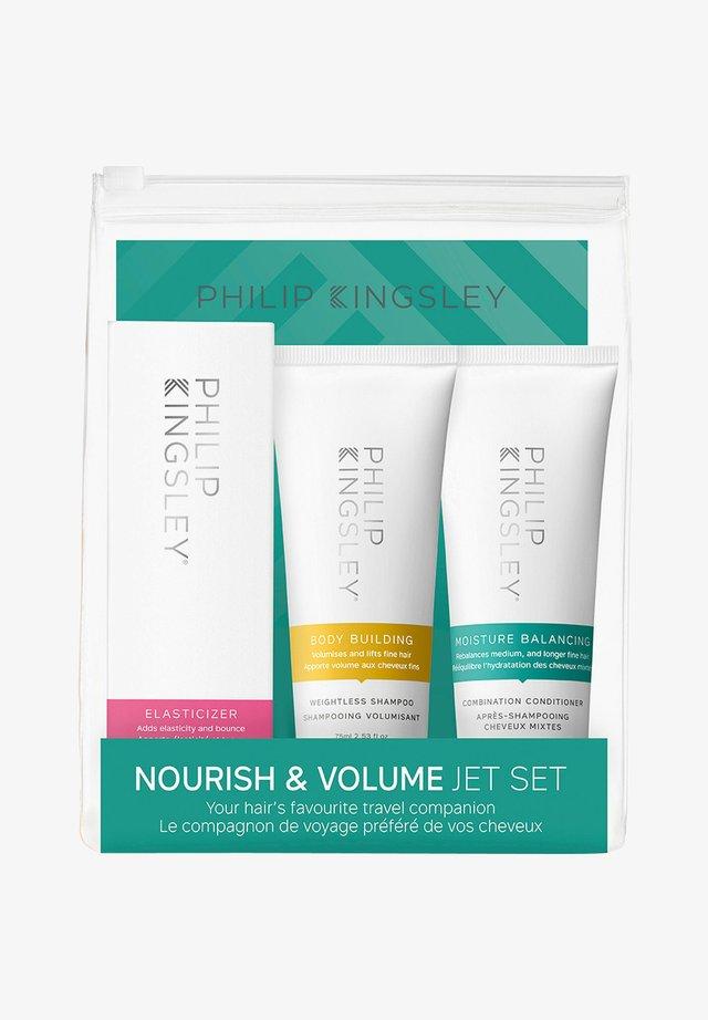 NOURISH & VOLUME JET SET - Shampoo - -