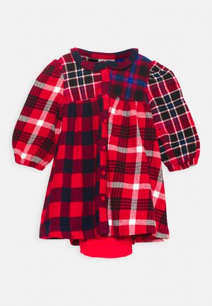 PLAID - Day dress - red