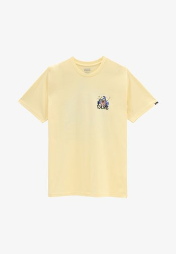 MN VANS IS MAGICAL S/S - T-shirt med print - double cream