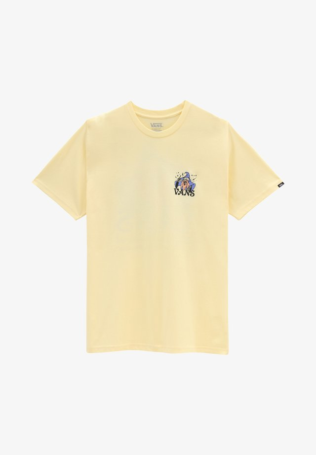 MN VANS IS MAGICAL S/S - T-shirt con stampa - double cream