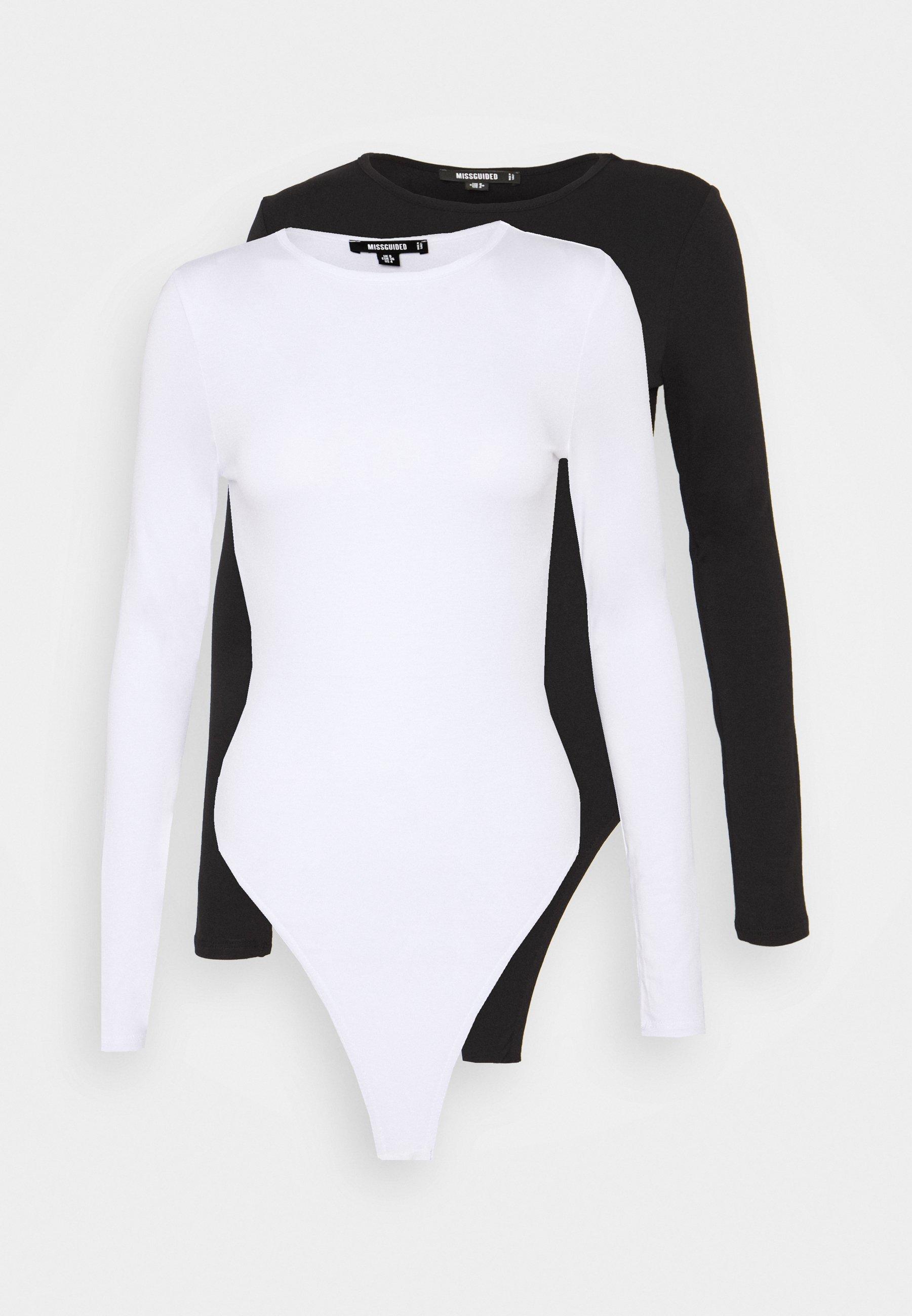 Women LONG SLEEVED BODYSUIT 2 PACK - Long sleeved top