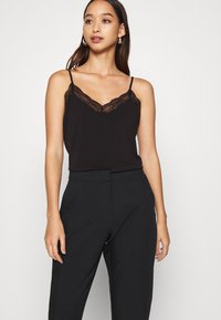 ONLY - LELY CIGARETTE PANT - Trousers - black - 3