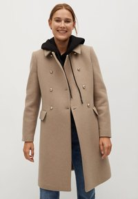 Mango - BOMBONS - Manteau classique - medium brown - 0