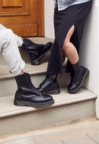 Dr. Martens - 1490 BEX - Veterlaarzen - black smooth - 5