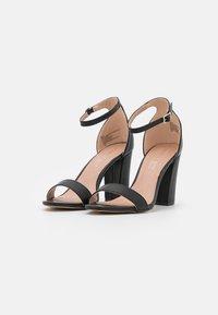 Madden Girl - BEELLA - Højhælede sandaletter / Højhælede sandaler - black paris - 2