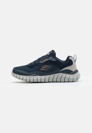 OVERHAUL - Sneakersy niskie - navy/gray