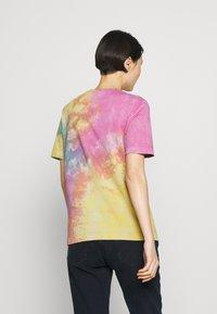 Love Moschino - TIE DYE SHIRT - Print T-shirt - color - 2
