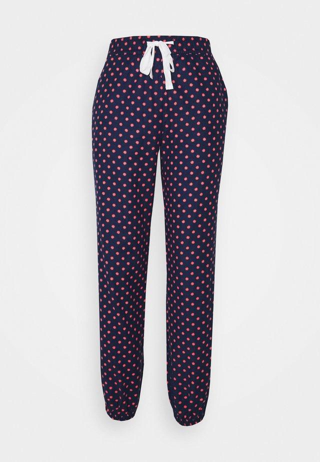 Pyjamabroek - navy/red