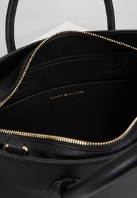 Tommy Hilfiger - CHARMING SATCHEL - Handbag - black - 3
